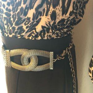 Chico's Accessories - Gold Waist Chain Belt